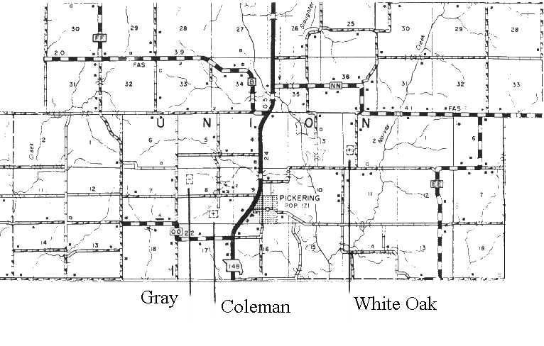 Union Township Map